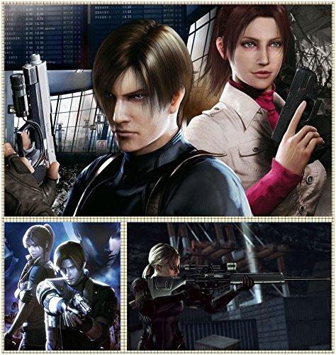 Resident Evil 6 406 Waterproof Plastic Poster Poster di Plastica Impermeabile - Anti-Fade - Possono utilizzare su Outdoor/Giardino/Bagno