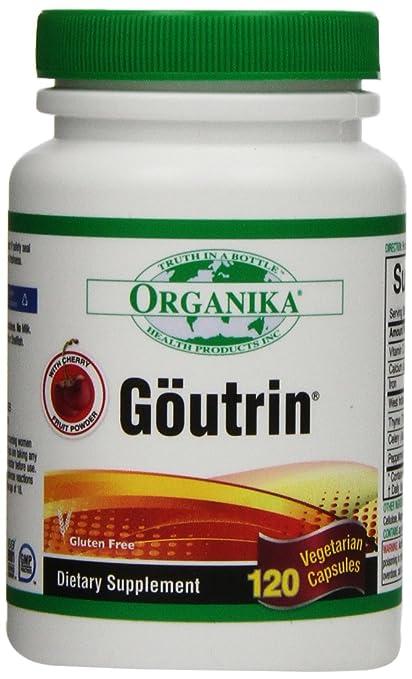 Organika Goutrin, capsules, 120-Count