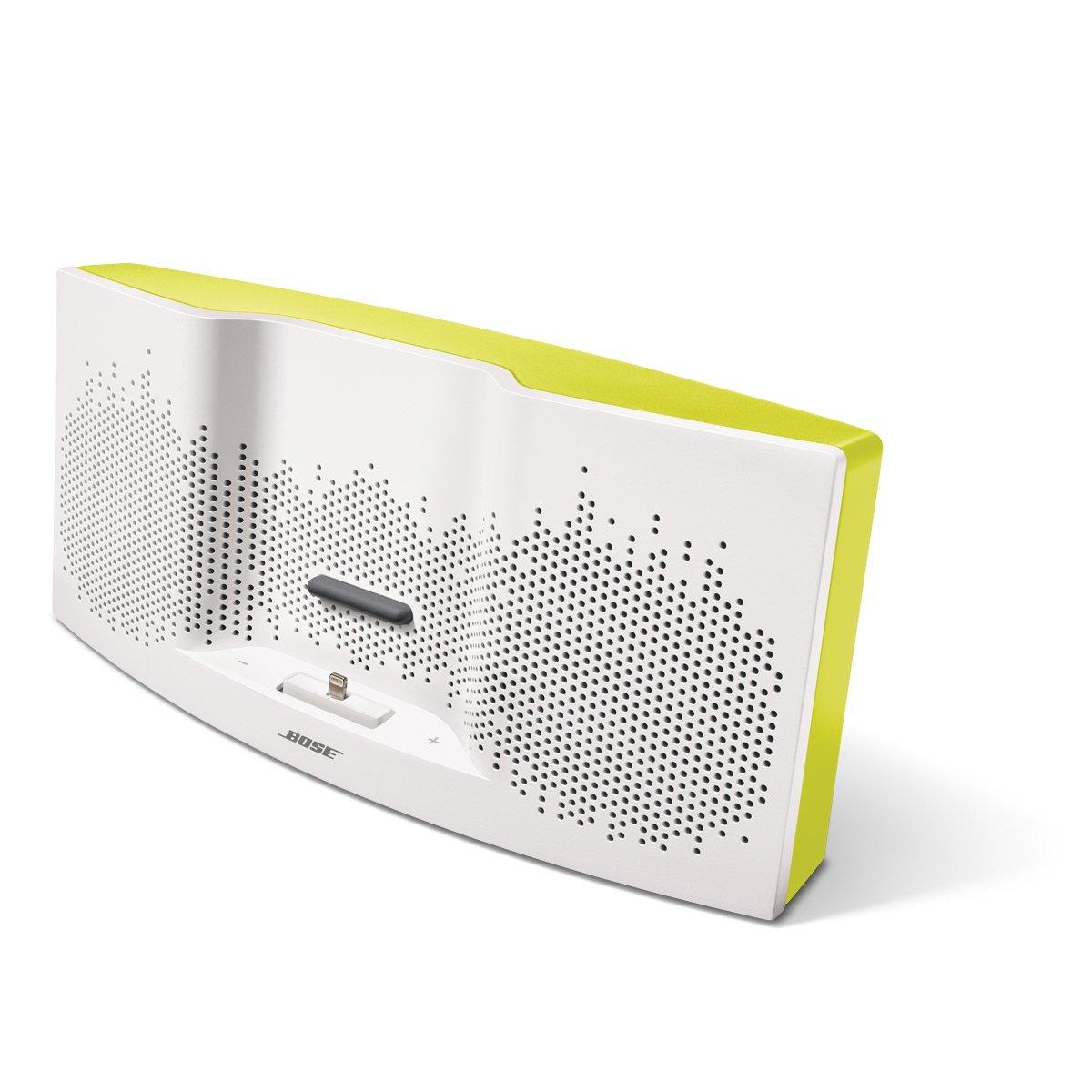 Bose SoundDock XT Lautsprecher weiß/gelb