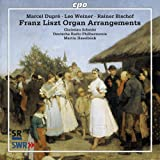 Liszt Organ Arrangements [Christian Schmitt, Martin Haselböck ] [CPO: 777472-2]
