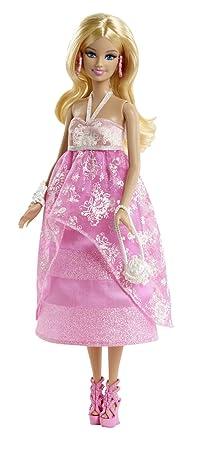 Bfw16 mattel barbie en rose gala