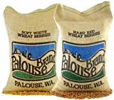 USA Grown 10 Lb Wheat Pack (5 LBS Soft White Wheat Berries and 5 LBS Dark Northern Spring Wheat Berries), Identity Preserved