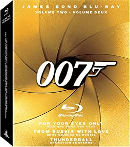 The James Bond Collection, Vol. 2 (For Your Eyes Only / From Russia with Love / Thunderball) [Blu-ray]