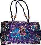Czds India Women's Blue Handbag (BAG-19)
