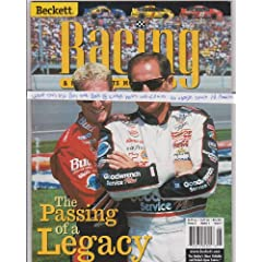 VINTAGE MAGAZINE BECKETT RACING Dale Earnhardt AND JR COVER PASSING OF A LEGACY APRIL... by Beckett