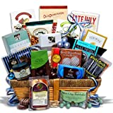 Kosher Hanukkah Gift Basket Deluxe