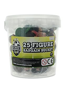 SoccerStarz - SSBB25S - Figurine - Bargain Bucket - Standard - 25 Pièces