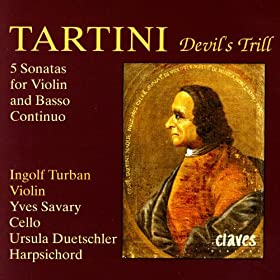 Tartini: Five Sonatas for Violin & Basso Continuo