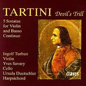 Tartini: Five Sonatas for Violin & Basso Continuo