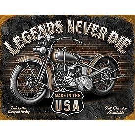 Vintage Motorcycle Signs