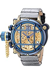 Invicta Men's 17344 Russian Diver Analog Display Swiss Quartz Grey Watch