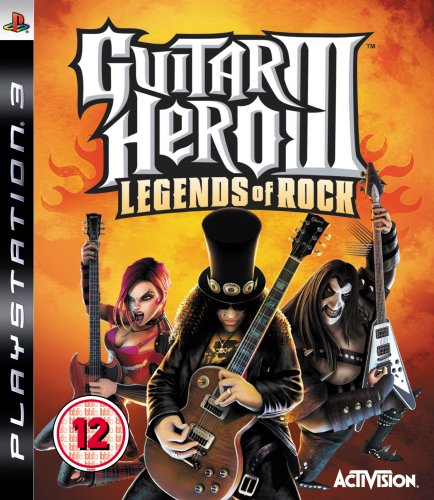 Guitar Hero 3: Legends of Rock – Game Only (PS3)