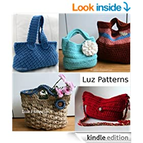 Crochet book, Vintage inspired bag collection (01)