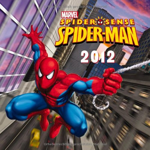 2012 Spiderman Grid Calendar