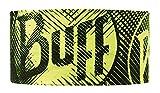 Buff (バフ) 豊富な色・柄 スペイン製 ランニングに最適 汗止め ヘッドバンド 縫い目なし 吸汗速乾 通気性 HEADBAND フリーサイズ (LOG US)