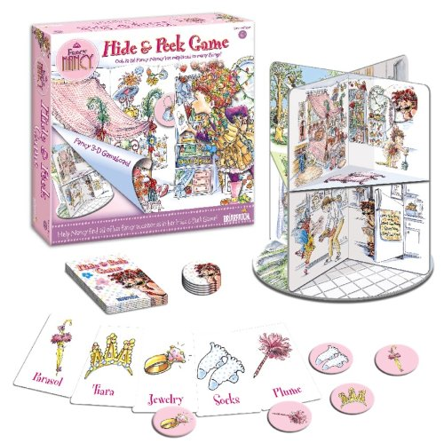 Briarpatch Fancy Nancy Hide 'n Peek House Game