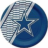 NFL Dallas Cowboys Disposable Paper Plate (20-Pack)