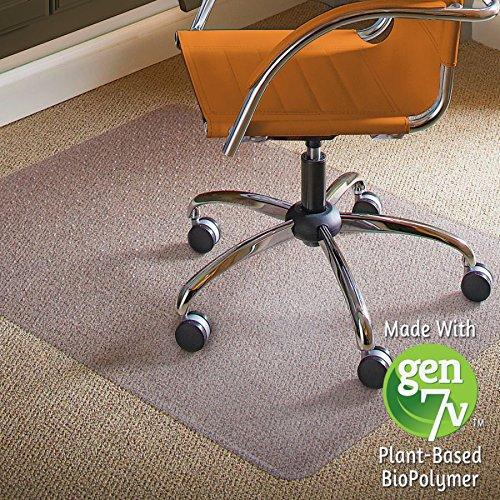 ES ROBBINS Natural Origins 46x60 Rectangle Carpet Chairmat for Low Pile Carpets