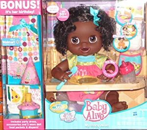Amazon Com Baby Alive My Baby Alive Doll Exclusive