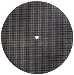 Glit 28429, Large Mesh Sandscreen Floor Pad with 6-mm Center Hole, Silicon Carbide, 8\