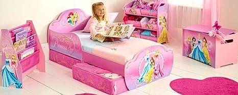 Chambre complète Disney Princesses. Avec Oreiller et matelas (140cms x 70cms)