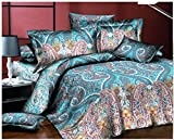 1800HomeLine Pigeon Double Bed AC Comforter Set with matching Pillow Covers