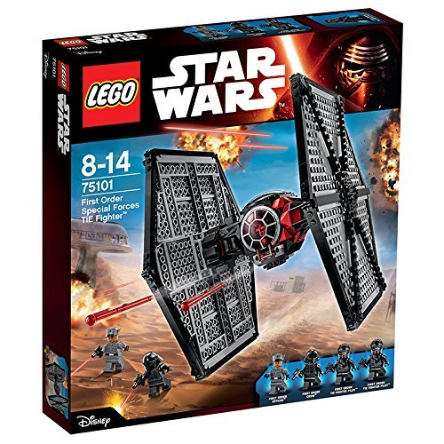 LEGO - 75101 - Star Wars - Jeu de Construction - First Order Special Forces TIE fighter