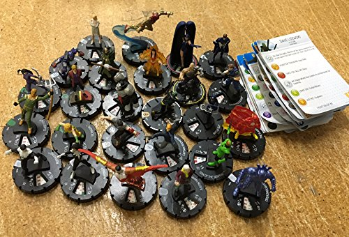25 Heroclix Assorted Figures (Heroclix Lord Of The Rings compare prices)