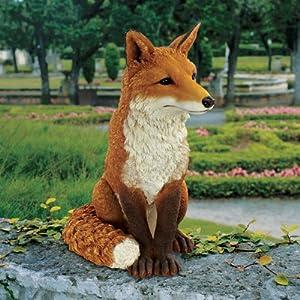 Design Toscano DB383073 Simon the Fox Garden Statue