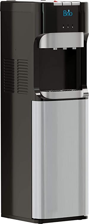 Brio Bottom Loading Water Cooler Water Dispenser - Essential Series - 3 Temperature Settings - Hot, Cold & Cool Water - UL/Energy Star Approved