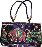 Czds India Women's Blue Handbag (BAG-49)