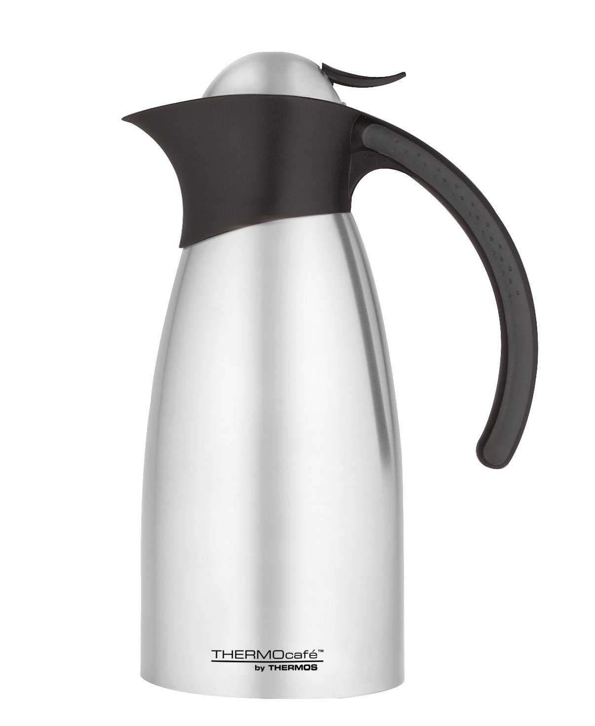 thermos thermocafe 1 0 litre stainless steel swan carafe ebay. Black Bedroom Furniture Sets. Home Design Ideas