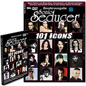 101 Icons + DVD; Bands u.a. Sisters Of Mercy, Depeche Mode, HIM, And One, ASP, Deine