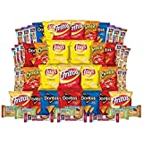 Lunch Box Builder, Variety Box of Frito-Lay Doritos, Fritos Chips, Cheetos Snacks, Quaker Chewy Bars and More, 50 Count Mix (Pack of 50)