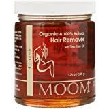 Moom Organic Hair Removal With Tea Tree Refill Jar - 12 oz- Pack of 1 (Tamaño: Pack of 1)
