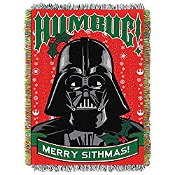 Lucas Films Star Wars, Humbug Woven Tapestry Throw by The Northwest Company, 48 by 60