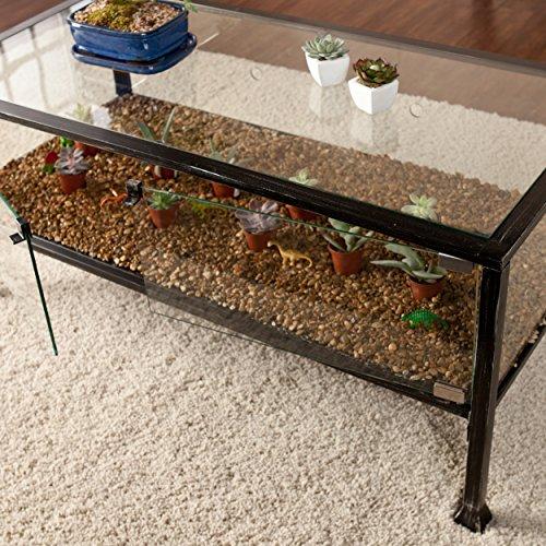 Http Www Ebay Com Itm Southern Enterprises Ayers Terrarium Display Coffee Cocktail Table Distressed 111624180946
