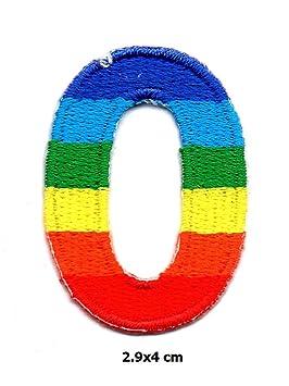 O Alphabet Logo 2 Pcs  O Rainbow Alphabet