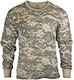 Mens Army Digital Camo Long Sleeve T-shirt