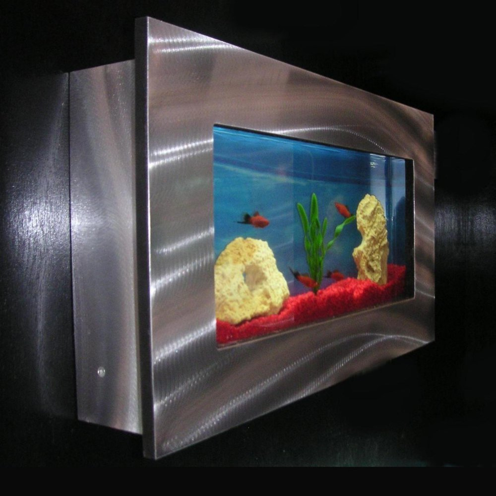 Bayshore Small Rectangular Wall Aquarium