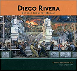 Diego rivera detroit industry murals 2009 wall calendar for Detroit industry mural