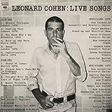 Live Songs [VINYL] Leonard Cohen