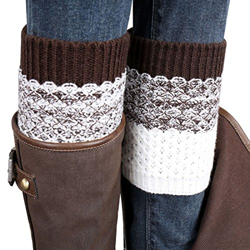 coromoser-2015-jacquard-knitted-cuffs-toppers-liner-boot-leg-warmers-socks-brown
