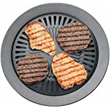Chefmaster KTGR5 13-Inch Smokeless Stovetop Barbecue Grill