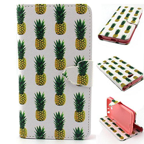 L90 Case,LG L90 Wallet Case,PU Leather Flip Case,[Kickstand Feature ] [Card Slots] [Magnetic Closure] Case Cover And