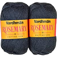 Vardhman Acrylic & Nylon Rosemary Grey (200 Gm) Pack Of 2 (300 Gm)
