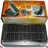 61OlJmZs ZL. SL160  Universal Solar Battery Charger, Charges 2 Batteries