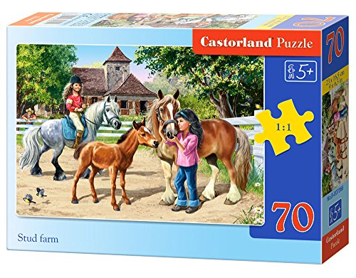 Castorland Stud Farm Jigsaw (70-Piece)