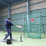 硬式・軟式・ソフトボール対応 2m×1.6m ハイ&ワイドバッティングネット ターゲット付 フィールドフォース