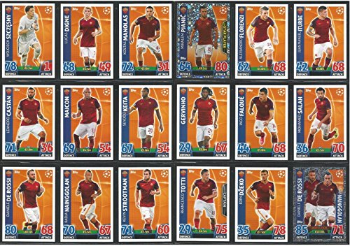 topps-champions-league-match-attax-15-16-as-roma-team-base-set-2015-2016-including-star-player-duo-t